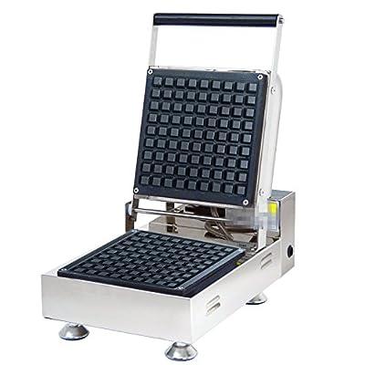 Mxbaoheng Np-923Deep Grille Unique gaufré machine seule Tête à carreaux machine à Gaufres gaufrier 220V