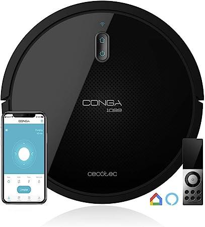 Cecotec Robot Aspirador Conga Serie 1099 Connected. 1400 Pa ...