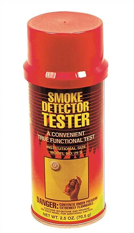 Home Salvaguardar 25s 2.5-oz. Spray Detector de humo