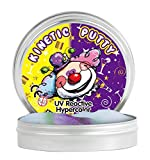 Coo11 UV Reactive Putty Stress Reliever Putty in Large Tin Box with UV Light torch (UV Reactive)