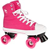 Rookie Rollerskates Canvas High Skate, Damen