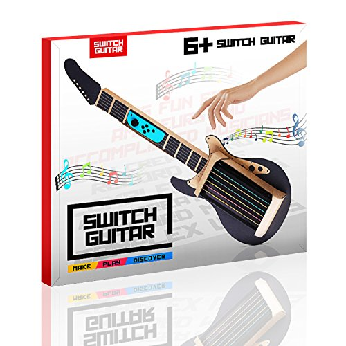 Meneea Cardboard Guitar For Nintendo Switch Accessories Variety Kit Guitar For Toy Con Garage