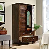 Sauder Harbor View Armoire, For TV's up to