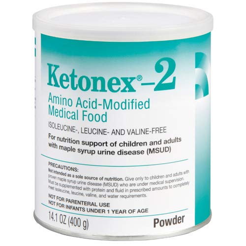 Abbott Nutrition Ketonex, 2 Amino Acid, Modified Medical Food, R, L51114, 1 Pound
