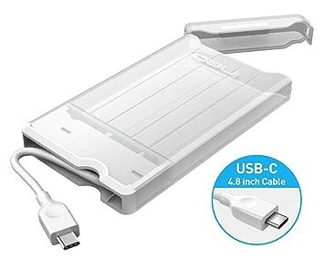 Ineo Carcasa USB C 3.1 Gen 2 Type-C Caja Discos Duros 2,5 ...