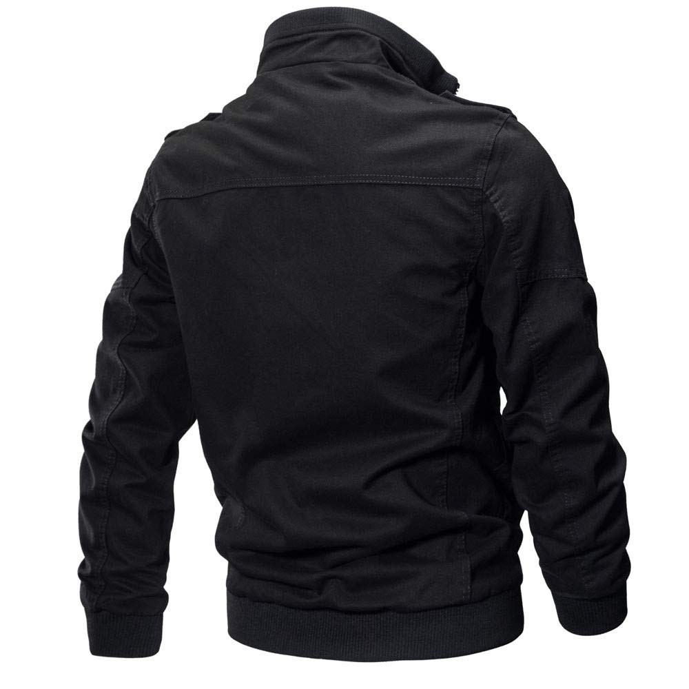 Big Teresamoon Mens Clothing Jacket Coat Military Clothing Tactical Outwear Breathable Coat