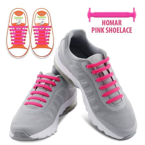 HOMAR No Tie Shoelaces for Kids and Adults -