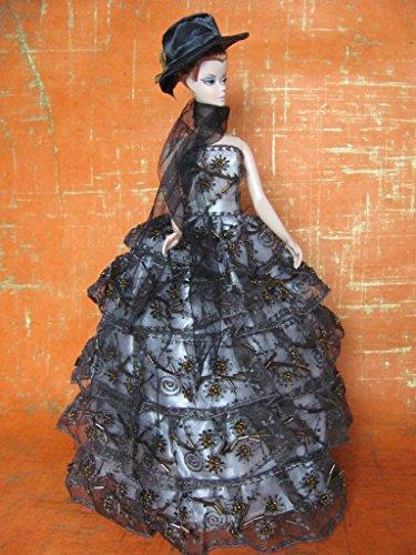 Hello Horror Barbie Doll Clothes Dress: Halloween Dress