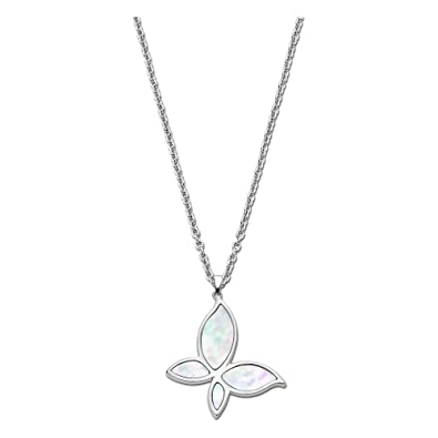 Lotus Style Collar Plata LS1794 - 1/1 acero inoxidable Mujer ...