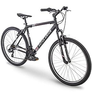 27.5″ Royce Union RMT Mens 21-Speed All-Terrain Mountain Bike, 18″ Aluminum Frame, Twist Shift, Matte Black