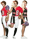 Cheerleader/Football Player Male Adult Halloween Costume