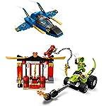LEGO-NINJAGO-Legacy-4-Set-Battaglia-sullo-Storm-Fighter-Giocattoli-della-serie-Masters-of-Spinjitzu-71703