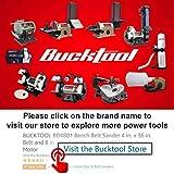 """Bucktool Combo 2"""" x 42"""" Belt Sander 6"""" Bench"""