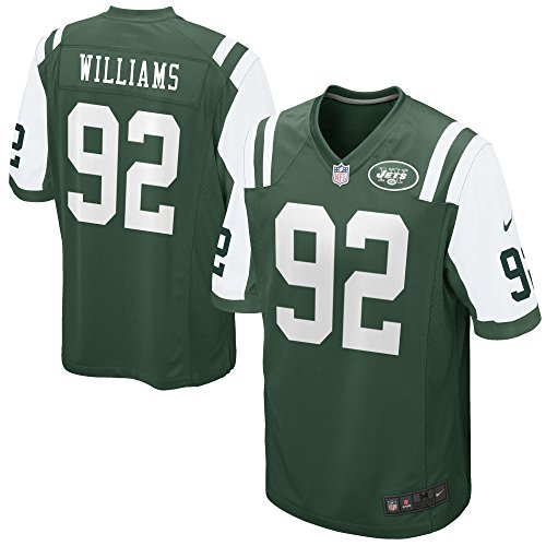 NIKE Leonard Williams New York Jets Green Game Jersey - Men's XL (X-Large) (Throwback Jets Jersey)