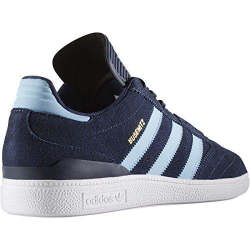 Adidas Originals Heren Busenitz Fashion Sneaker Collegiaal Marine / Goud Metallic Suède