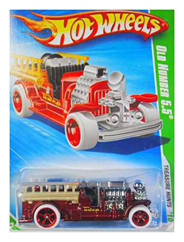 2010 Hot Wheels Treasure - Hot Wheels 2010 $ Super Treasure Hunt $ Old Number 5.5