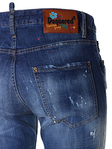 Dsquared2 Coton Jeans Femme Bleu S72LB0067S30342470 qqxPgv
