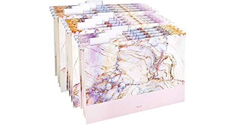 12 Piece Charavector Hanging File Folders Letter Size only $5.00