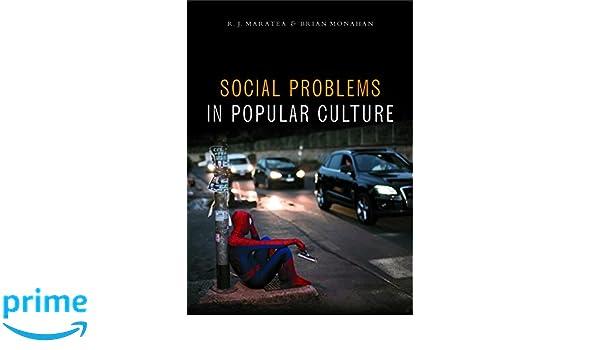 Social Problems In Popular Culture R J Maratea 9781447321583