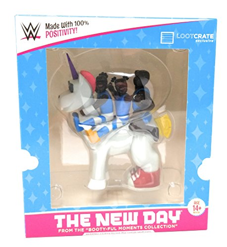WWE The New Day + Unicorn Vinyl Figuren - Slam Crate Exclusive - Booty-Ful Moments Collection by Slam Crate