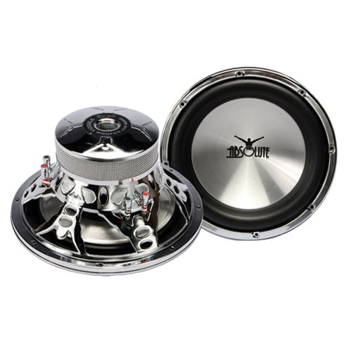 Absolute VI Series VI 2000.6 12-Inch 2000-Watt 6-Ohm VI Series Subwoofer - Dual