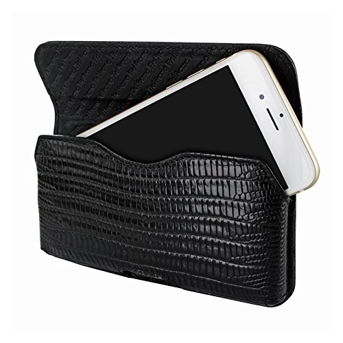 PIELFRAMA 688LA Lizard Case HorizontalApple iPhone 6 Plus in schwarz