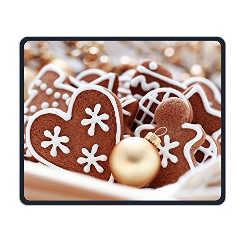 Smooth Mouse Pad Crunchy And Chocolaty Biscuits Mobile Gaming MousePad Work Mouse Pad Office Pad