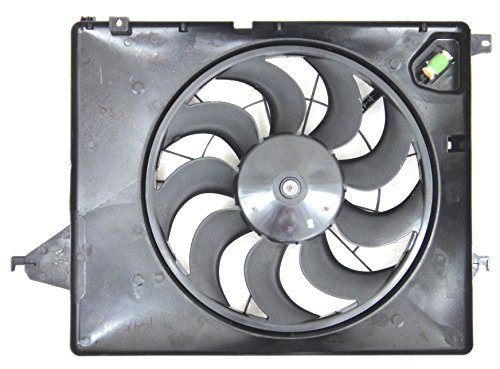 Depo 323-55027-000 Radiator/Air Conditioner Fan Assembly (KIA SORNTO/HY SNTA FE 2.4/3.5L 11-12 ASSEMBLY)