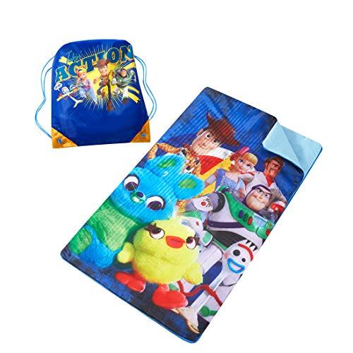 Disney Toy Story 4 Sling Bag Slumber Set, Multicolor (Toy Sleeping Story Bag)