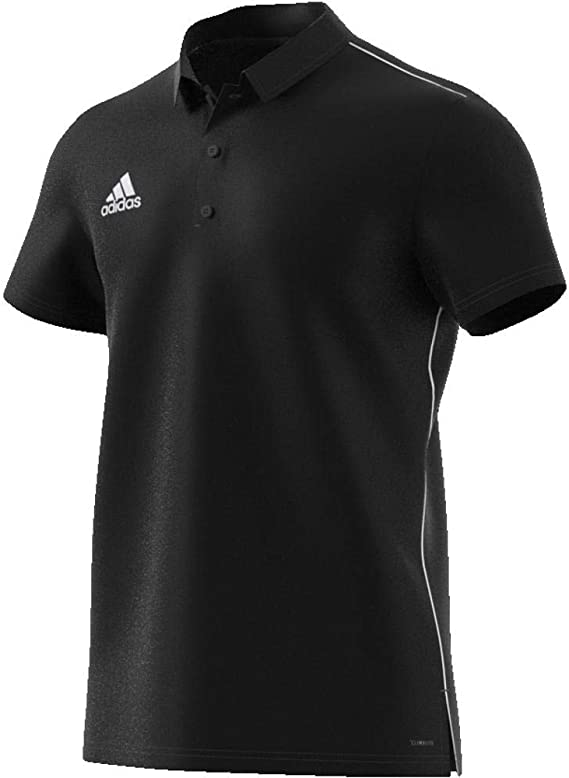 adidas Core18 Camiseta Polo, Hombre, Black/White, 3XL: Amazon.es ...