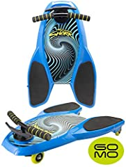GOMO - Get Out More Often!                        The SPINNER SHARK Scoot Board That Never Gets Boring!              For kids who simply MUST go fast, now you can pop them on the low profile Spinner Shark and watch them go go ...