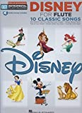 Easy Instrumental Play Along Disney Flute Book With Audio Download (Hal Leonard Easy Instrumental Play-Along) (Includes Online Access Code)