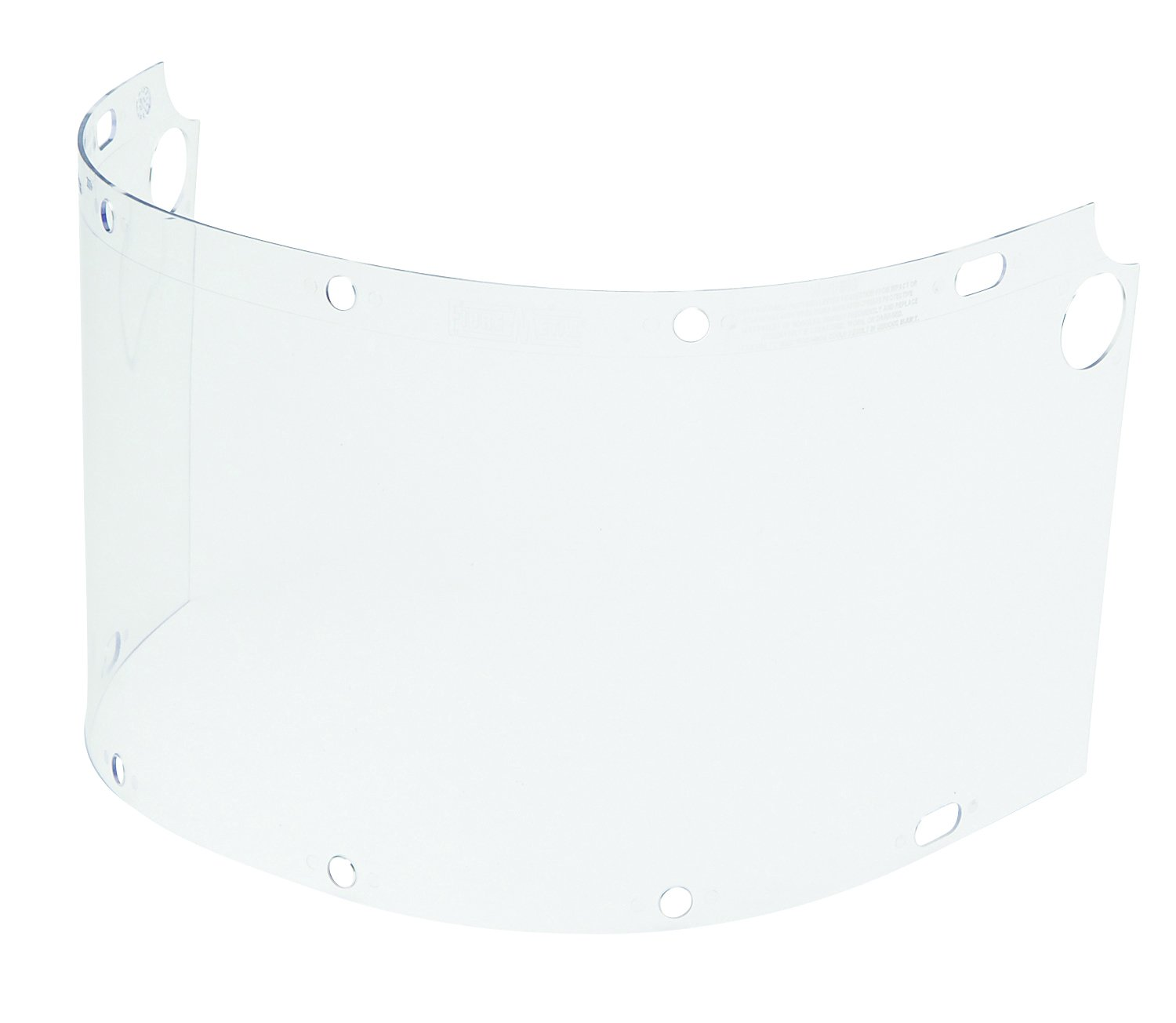 Fibre-Metal by Honeywell 6750CL Dual Crown Face shield Window, Clear