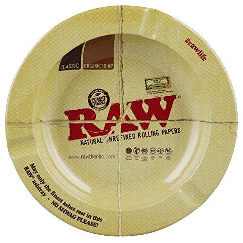 Raw Round Metal Ashtray - Magnetic / 5.5