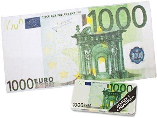 100 Euro Tuch Magic Handtuch 1000 Schein Trick Amazon De Kuche Haushalt