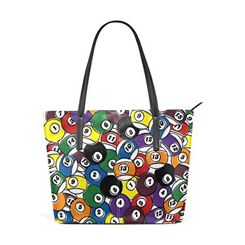 6885d8faeebaa COOSUN Billardkugel in einem PU Leder Schultertasche Handtasche und Handtaschen  Tasche für Frauen