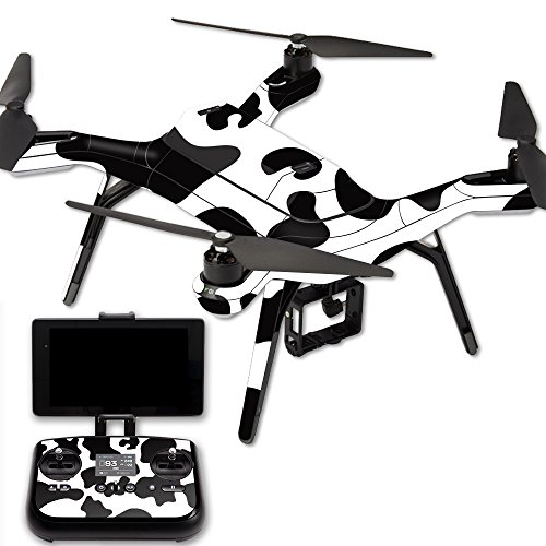 MightySkins Protective Vinyl Skin Decal for 3DR Solo Drone Quadcopter wrap cover sticker skins Cow Print - Qua Print