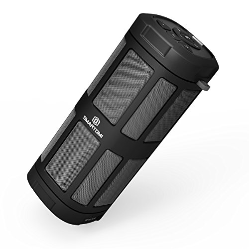SmartOmi OPTIMUS Wireless Bluetooth Speakers 16W Louder Volume, 30 Hours Playtime With Wired Remote Controller For Bike, Cycling and Other Indoor/ Outdoor Activities