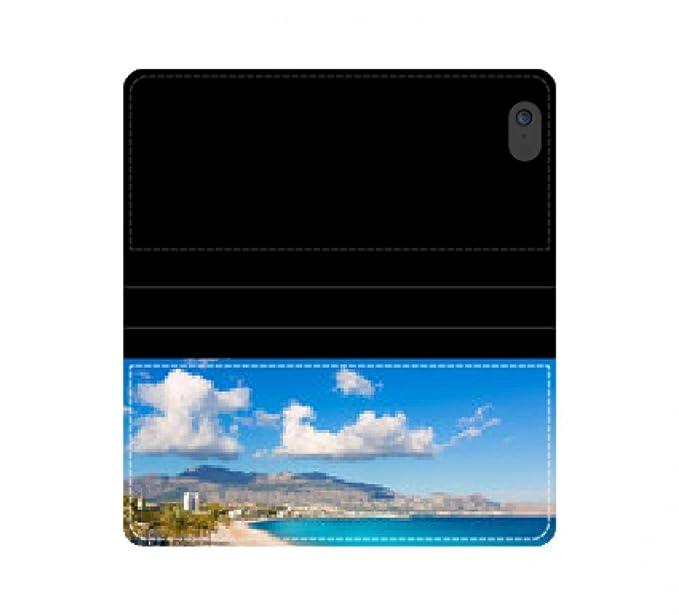Altea Playa del Albir de piedras blancas en Alicante España cuero cartera bolsa caso iPhone 4