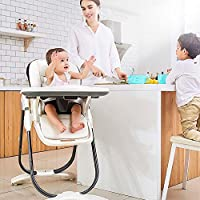 SpringBuds Baby High Chair with Big Detachable 2 in 1 Tray