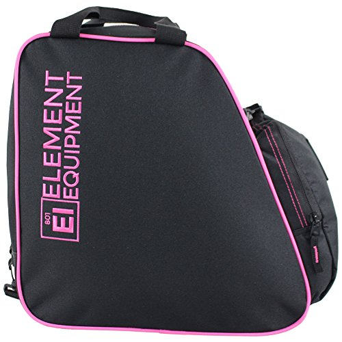 Element Equipment Boot Bag Snowboard Ski Boot Bag Pack Black Pink (Bag Pink Snowboard)