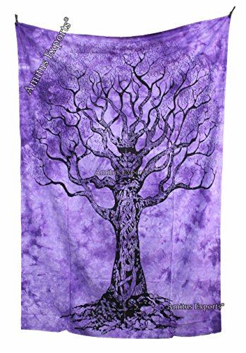 Amitus Exports(TM) 1 X Tree Of Life Tapestry 80