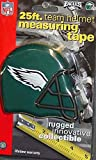 DuraPRO NFL Philadelphia Eagles 25 Foot Team Helmet Measuring Tape, NEW