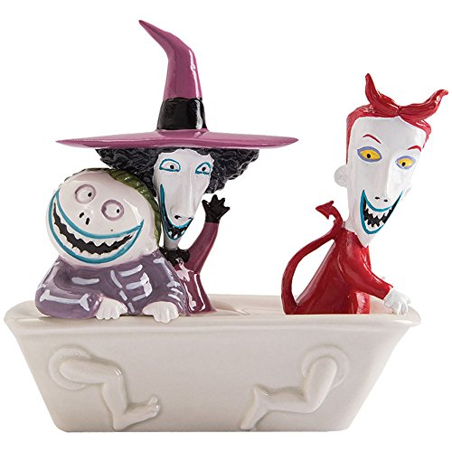 Costumes And Shock Christmas Nightmare Lock Before Barrel (The Nightmare Before Christmas Lock, Shock & Barrel Salt & Pepper Shaker)