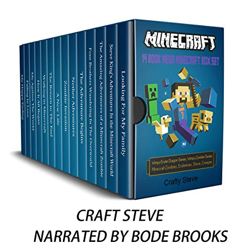 Minecraft: 14 Book Mega Minecraft Box Set