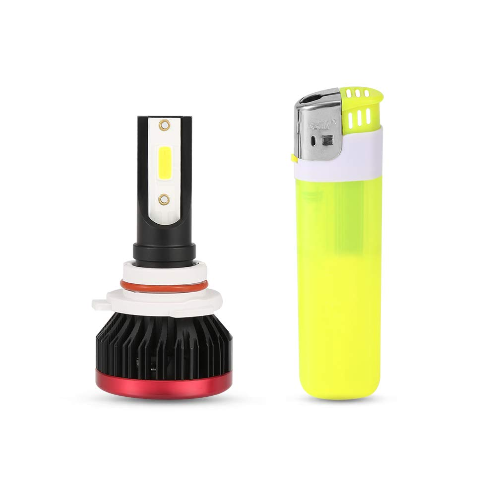 H11 LED Headlight Bulbs 72W Conversion Kit All-in-One COB Chips 9600 lumens Fog Lights H9 H8 Extremely Bright 6000K Auto Headlamp Car Bulb,1 Year Warranty by Duo Lu Tong 5559076935