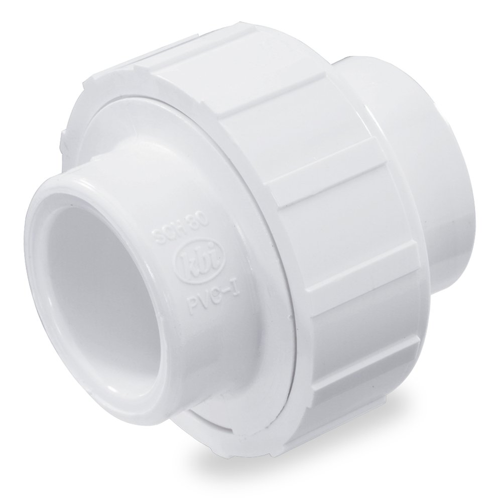 NDS WU-0750-S 3/4-Inch Slip PVC Schedule 40 Union White - Pipe Fittings - Amazon.com  sc 1 st  Amazon.com & NDS WU-0750-S 3/4-Inch Slip PVC Schedule 40 Union White - Pipe ...