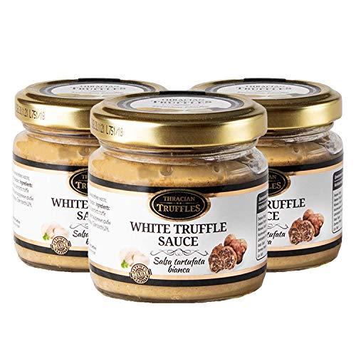 Witte truffel White truffle sauce Witte truffelsaus Tuber borchi Luxe Gourmet voedselsaus Pasta, ideaal voor vlees…