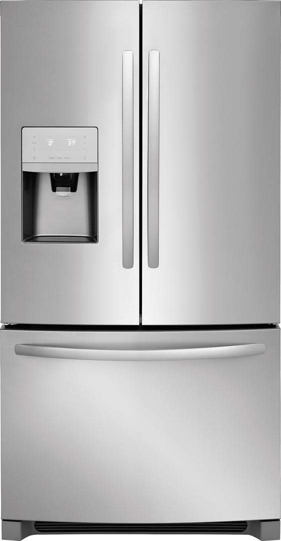 , White Frigidaire CUREFR115W 1.6 Cubic-ft Compact Refrigerator