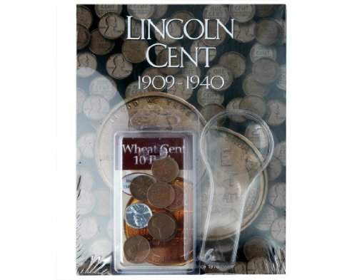 Lincoln Wheat Penny Starter Album Collection Kit; Great for Beginner Collectors (Coin Collectors Starter Kit)